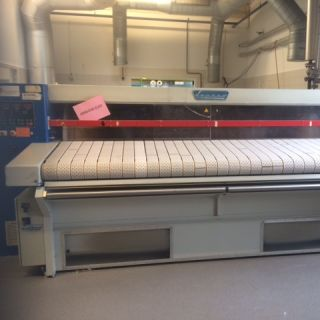 Lapauw mangel stoomverwarmd ironer lapauw steamheated